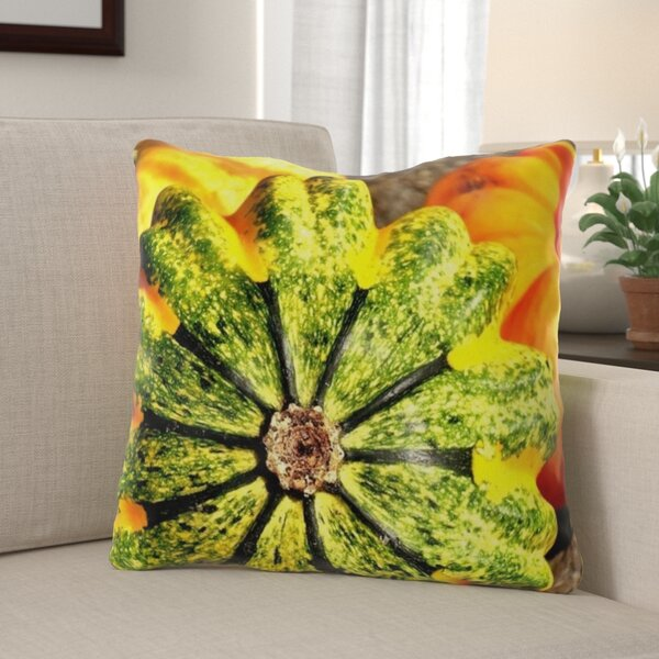 Hearon Pumpkins Indoor/Outdoor Throw Pillow