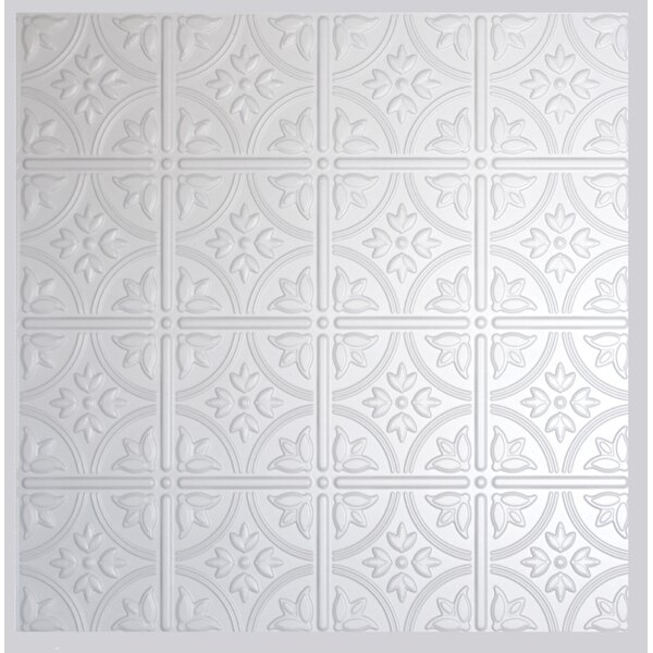 2 ft. X 2 ft. Lay-In Ceiling Tile in Matte White (