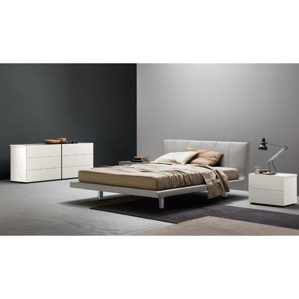 Siro Upholstered Platform Bed By San Giacomo No Copoun