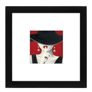 Haute Chapeau Rouge Framed Painting Print by East Urban Home