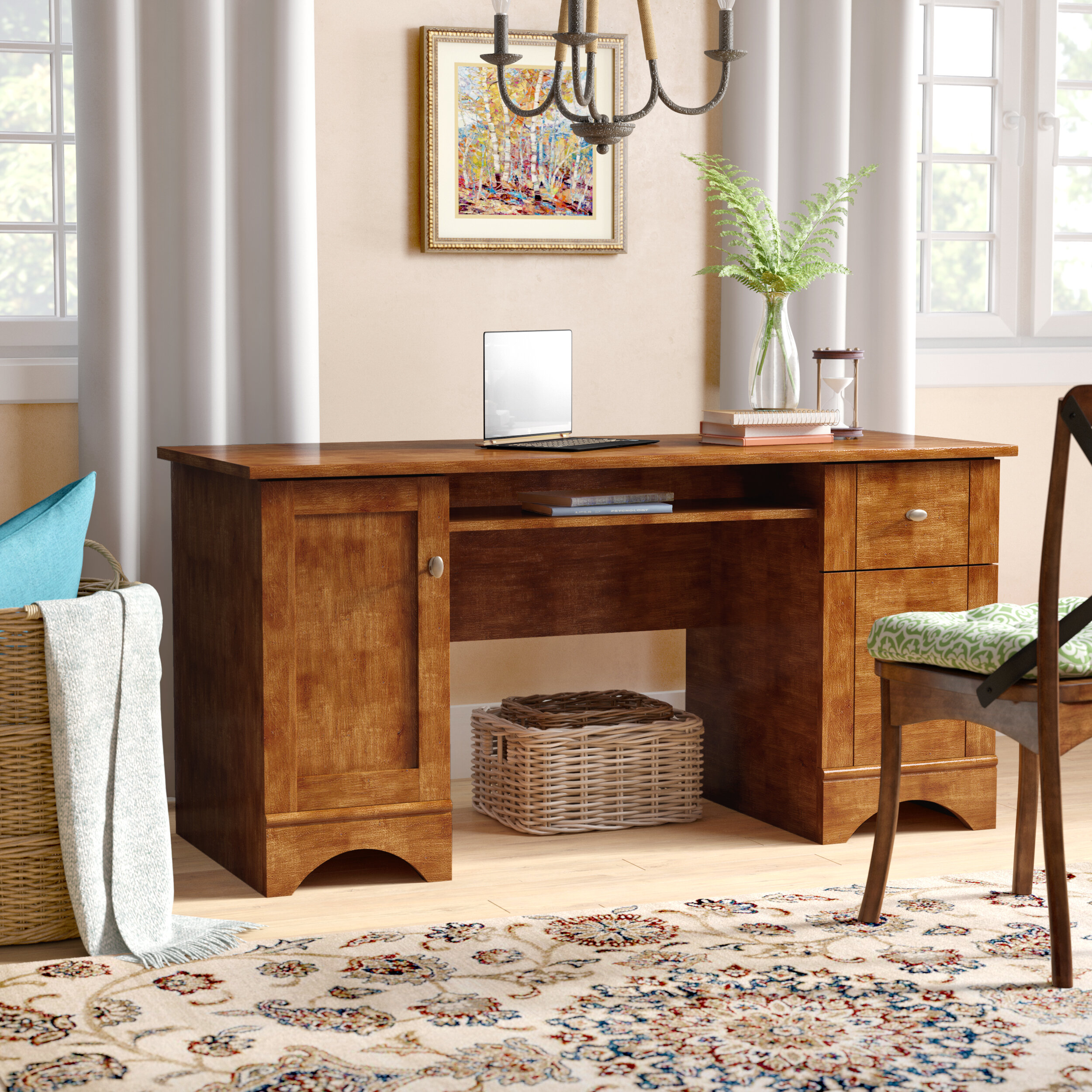 top office decorating ideas.htm darby home co chamberland desk   reviews wayfair  darby home co chamberland desk