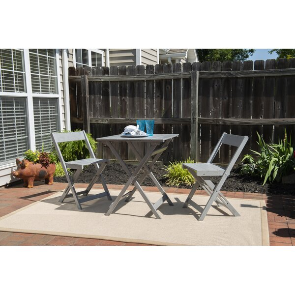 Katniss 3 Piece Bistro Set