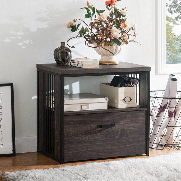 Melnick Home Office 1-Drawer Lateral Filing Cabinet
