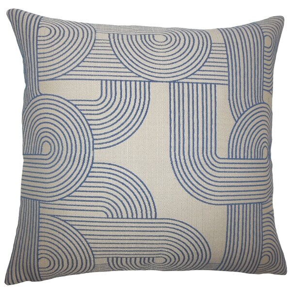 Deandre Geometric Floor Pillow by Corrigan Studio