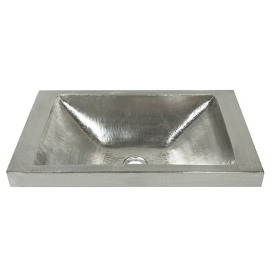 Native Trails Drop Sink Metal Rectangular Bathroom Sinks