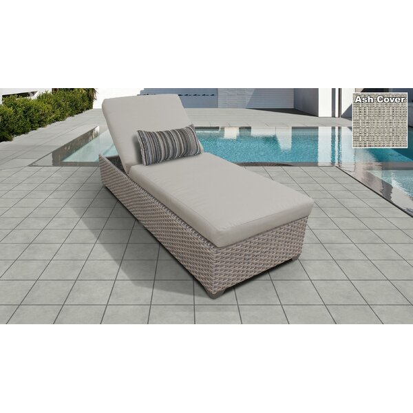 Monterey Chaise Lounge with Cushions by TK Classics