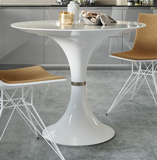 Waterloo Dining Table by Modloft Black Modloft Black