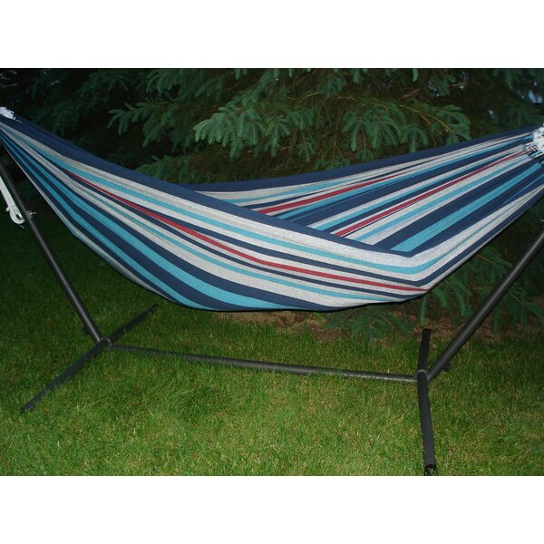 Brazilian Single Cotton Camping Hammock by Freeport Park