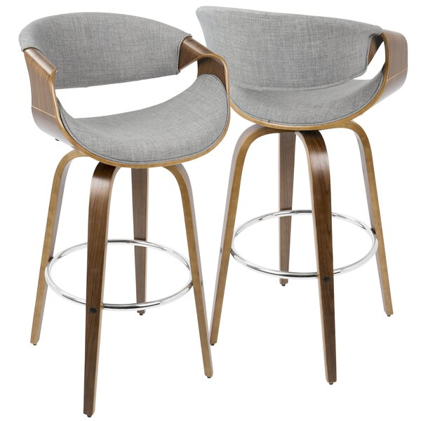 Chagford 30 Swivel Bar Stool (Set of 2) by Corrigan Studio