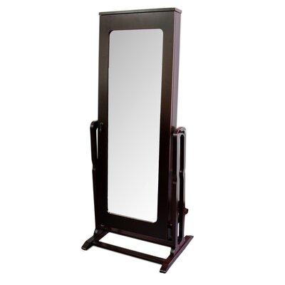 Modern and Contemporary Shelves Cheval Mirror