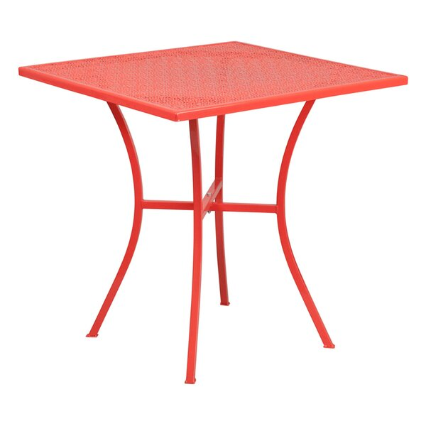 Annabella Steel Bistro Table by Winston Porter