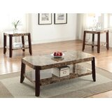 3 Piece Coffee Table Set by HomeRoots