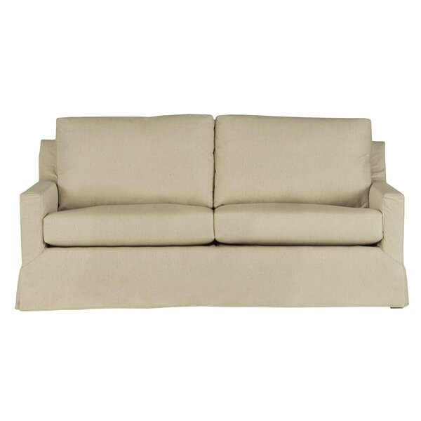 Discount Brendon Slip Covered Sofa by Alcott Hill by Alcott Hill