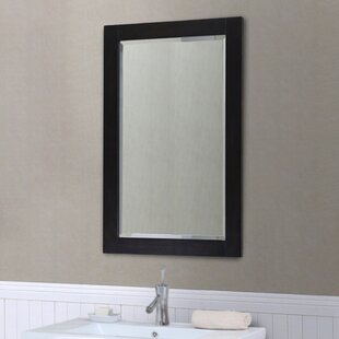 Reviews IN Series Beveled Edge Wall Mirror By InFurniture