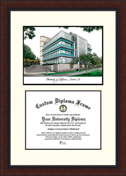 NCAA California University, Irvine Legacy Scholar Diploma Picture Frame by Campus Images