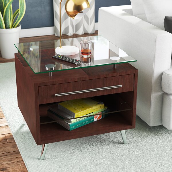 Napoleon End Table by Wade Logan