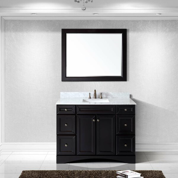 Rosado 48 Single Bathroom Vanity Set with Mirror by Three Posts