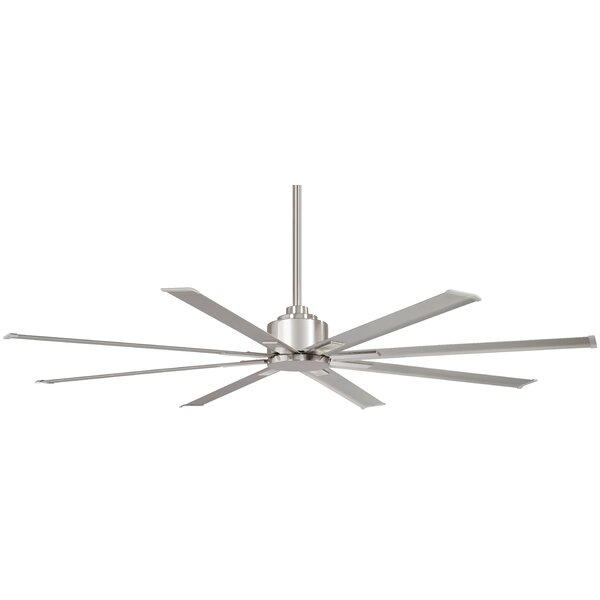 65 Xtreme 8 Blade Outdoor Ceiling Fan with Remote by Minka Aire