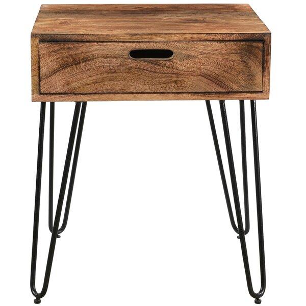 Binne End Table by Union Rustic