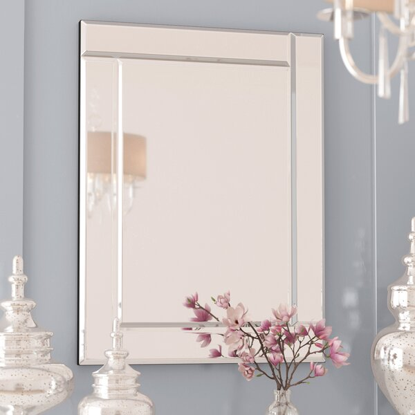 Contemporary Framed Accent Wall Mirror by Rosdorf Park