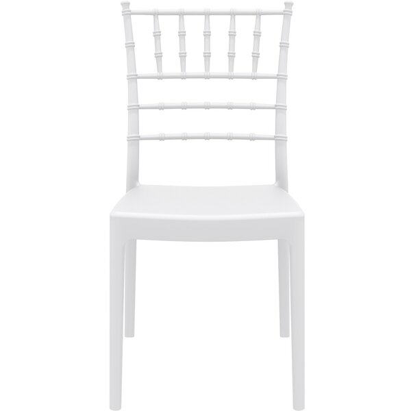 Bormann Stacking Patio Dining Chair (Set of 2) by Charlton Home
