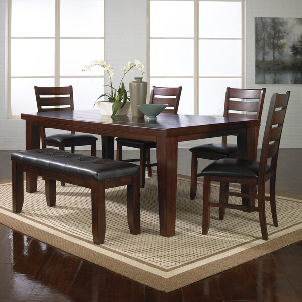 Stephentown 6 Piece Solid Wood Dining Set by Red Barrel Studio