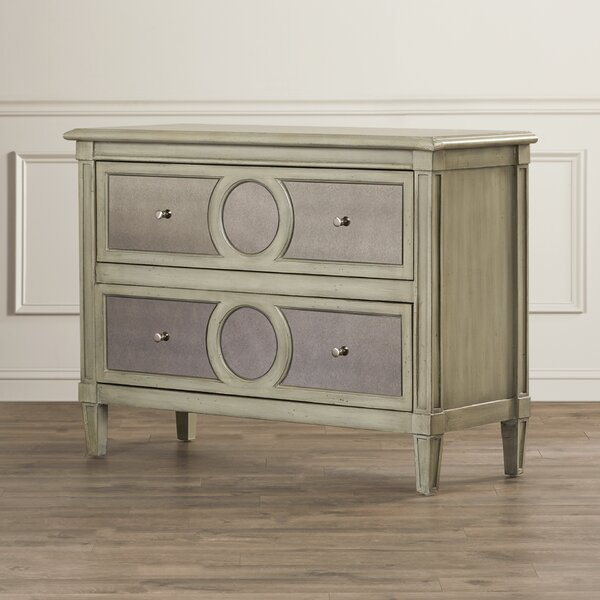 Luton 2 Drawer Accent Chest by House of Hampton