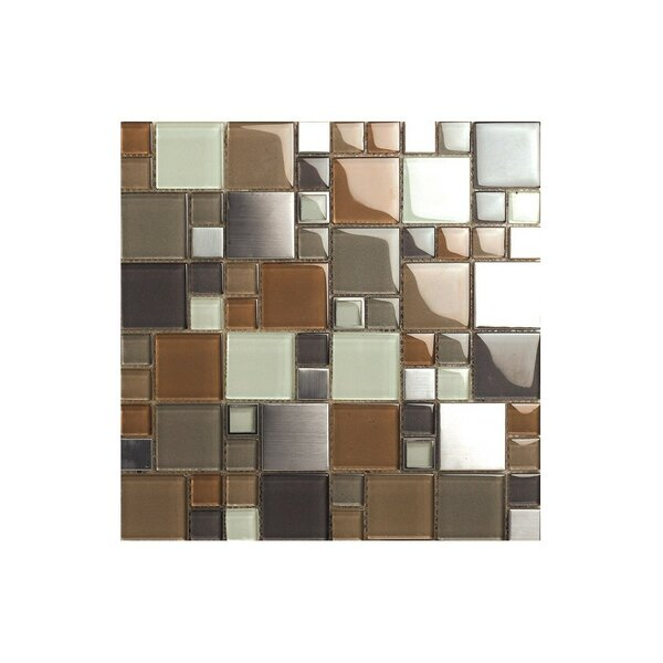 12 x 12 Glass Mosaic Tile by Kellani