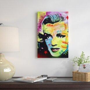 Marilyn Monroe IGraphic Art On Canvas