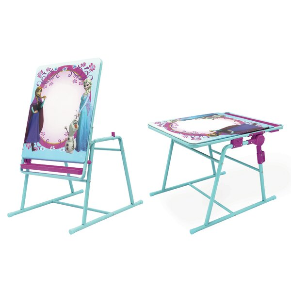 Frozen Sisters 2-in-1 Folding H-Frame Easel by Kids Only