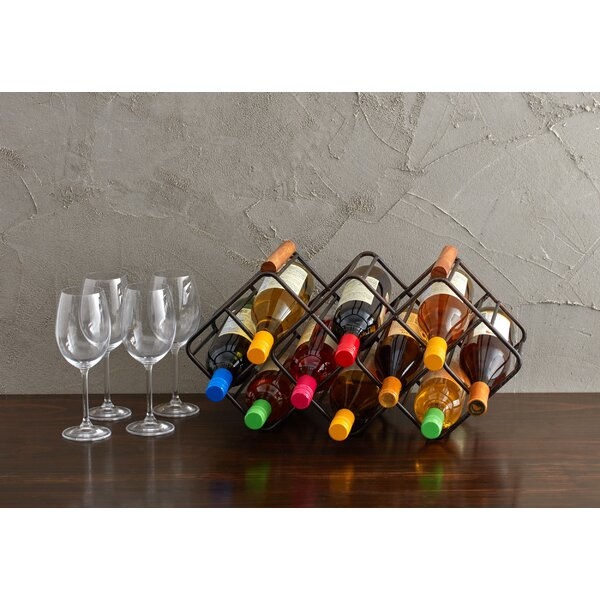 12 Bottle Tabletop Wine Rack by Gourmet Basics by Mikasa