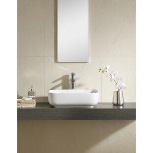 Rectangular Vessel Bathroom Sink ByFine Fixtures