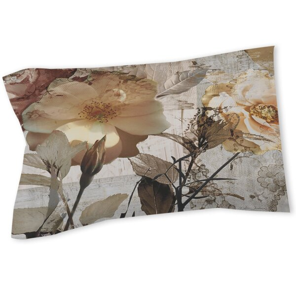 Floral Rectangle Sham by East Urban Home