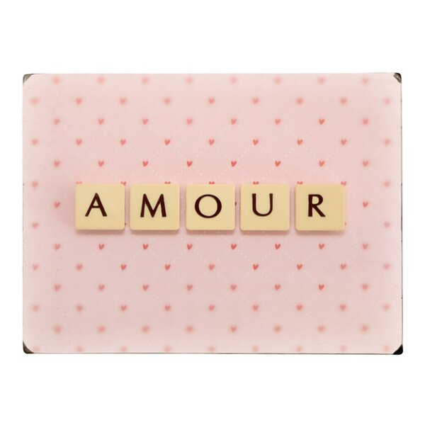 Amour Letter Photographic Print on Wood by Artehouse LLC