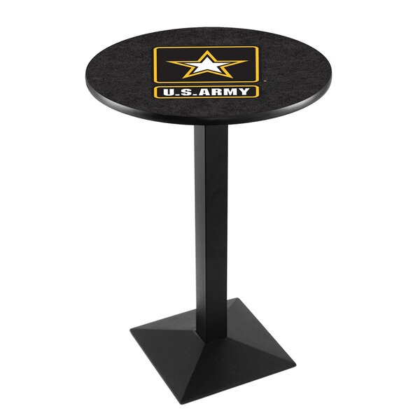 Military Pub Table by Holland Bar Stool