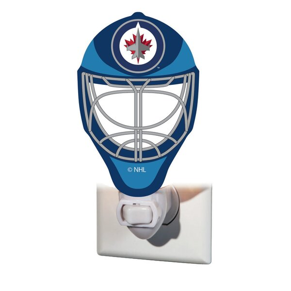 NHL Glass Night Light by Team Sports America
