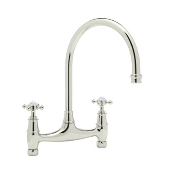 Perrin and Rowe Double Handle Kitchen Faucet by Rohl