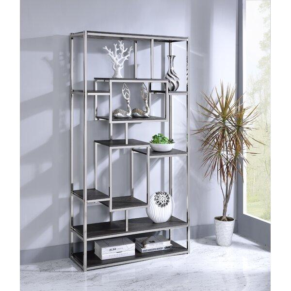 Erik Geometric Bookcase By Orren Ellis