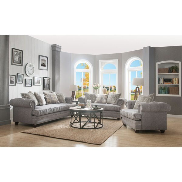 Warwick Configurable Living Room Set by Canora Grey