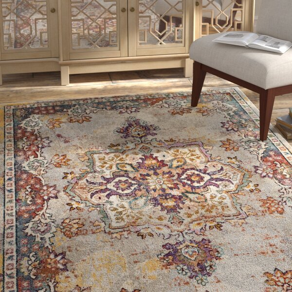 Mcintosh Creme Area Rug  by Bloomsbury Market