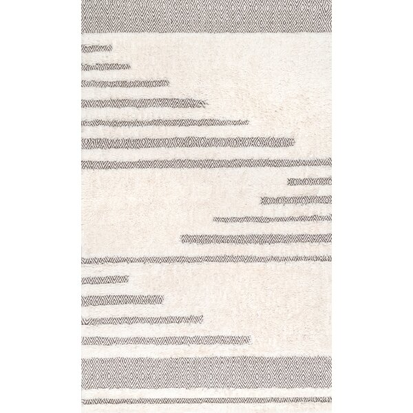 Ormside Cotton/Wool Ivory Area Rug by Orren Ellis