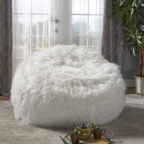 Ashton Furry Bean Bag Chair by Greyleigh