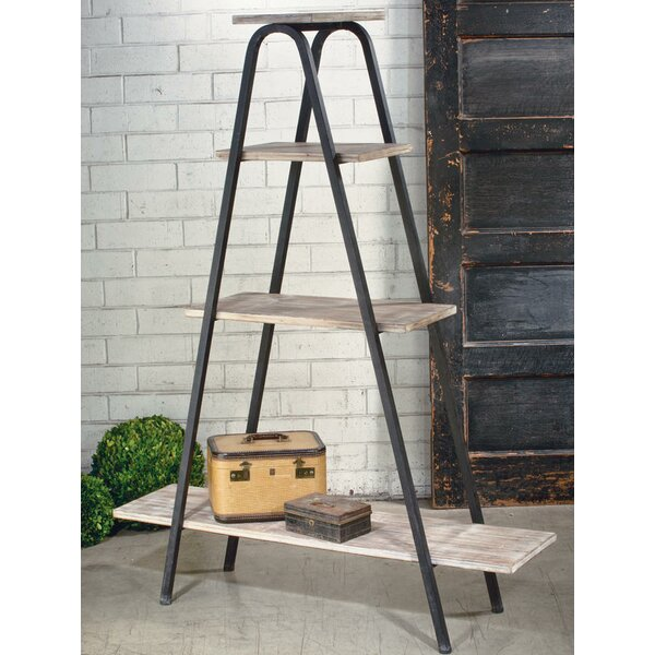 4 Tier A-Form Display Etagere Bookcase by Tripar