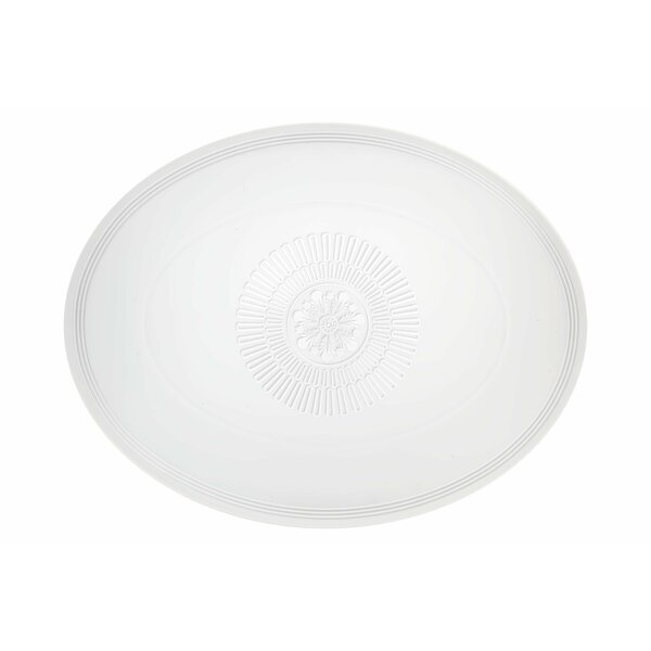 Ornament Oval Platter by Vista Alegre