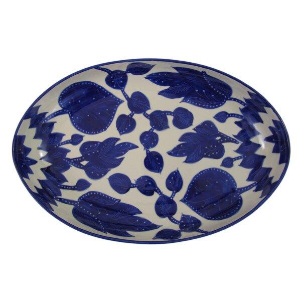 Jinane Poultry Platter by Le Souk Ceramique