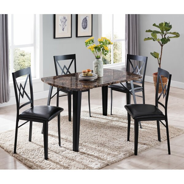 Starrett 5 Piece Dining Set by Winston Porter