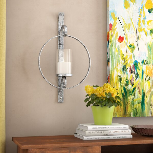 Metal Sconce by Alcott Hill