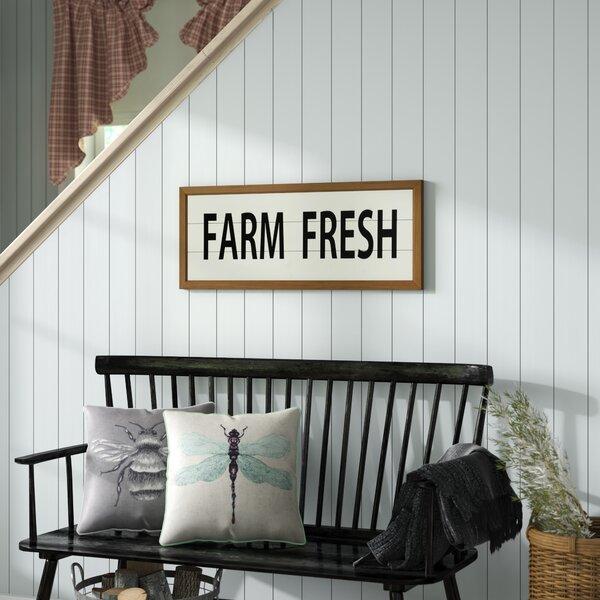 Wooden Farm Fresh Wall Decor by Gracie Oaks