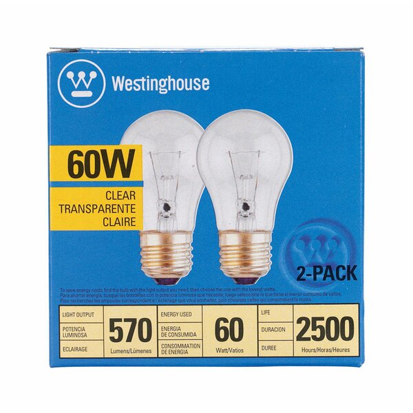 60W E26 Dimmable Incandescent Edison Light Bulb by Westinghouse Lighting