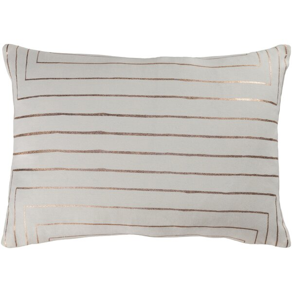 Farringdon Cotton Lumbar Pillow by Mercer41